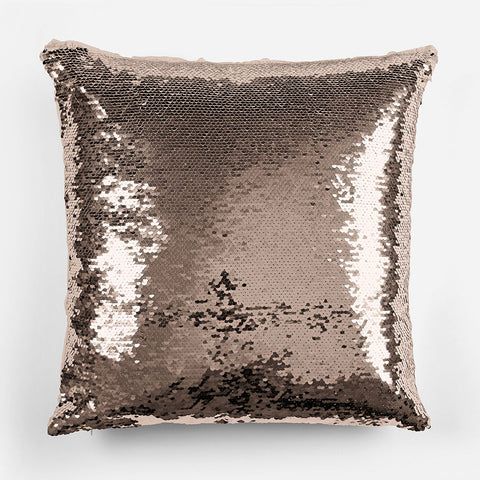 Image of Personalized Unicorn Sequin Pillowcase - Rose Gold