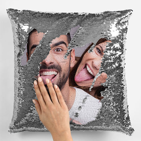 Image of Personalized Sequin Pillowcase