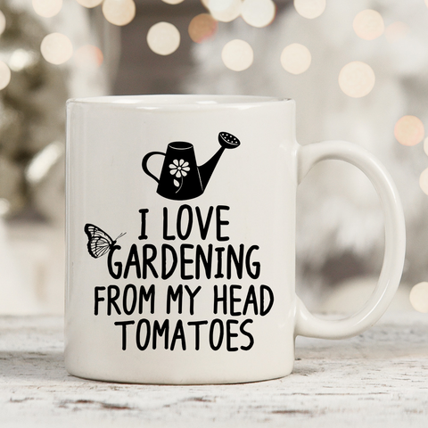 I Love Gardening 11oz 15oz Coffee Mug