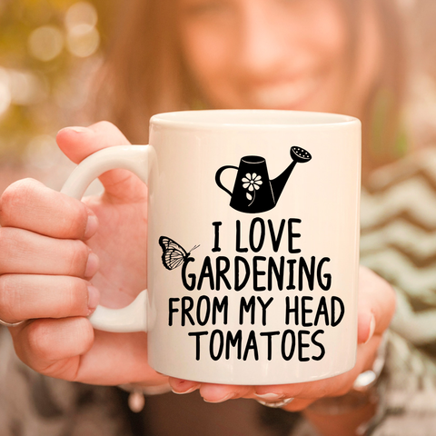 Image of I Love Gardening 11oz 15oz Coffee Mug