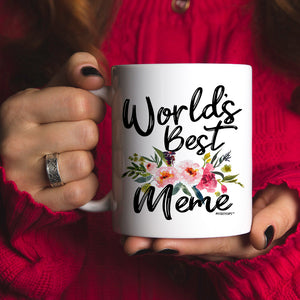 World's Best Meme 11oz 15oz Coffee Mug