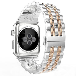 Luxury Stainless Steel Link - SmartWatchLuxury