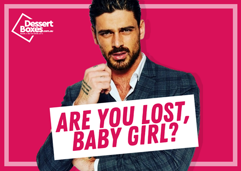 Are you lost, baby girl card