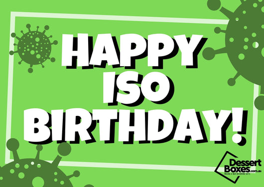 Happy Iso Birthday Card