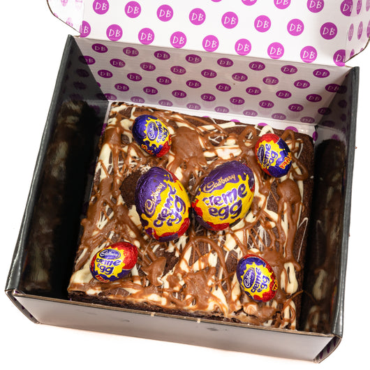 Loaded Creme Egg Brownie