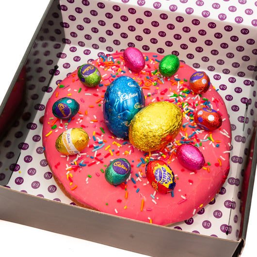Giant Easter Donut