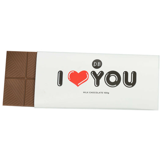 I LOVE You Chocolate Bar - NEW