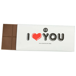 I Love You Chocolate Bar
