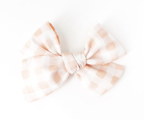 Rifle Paper Co. // Painted Gingham in Peach