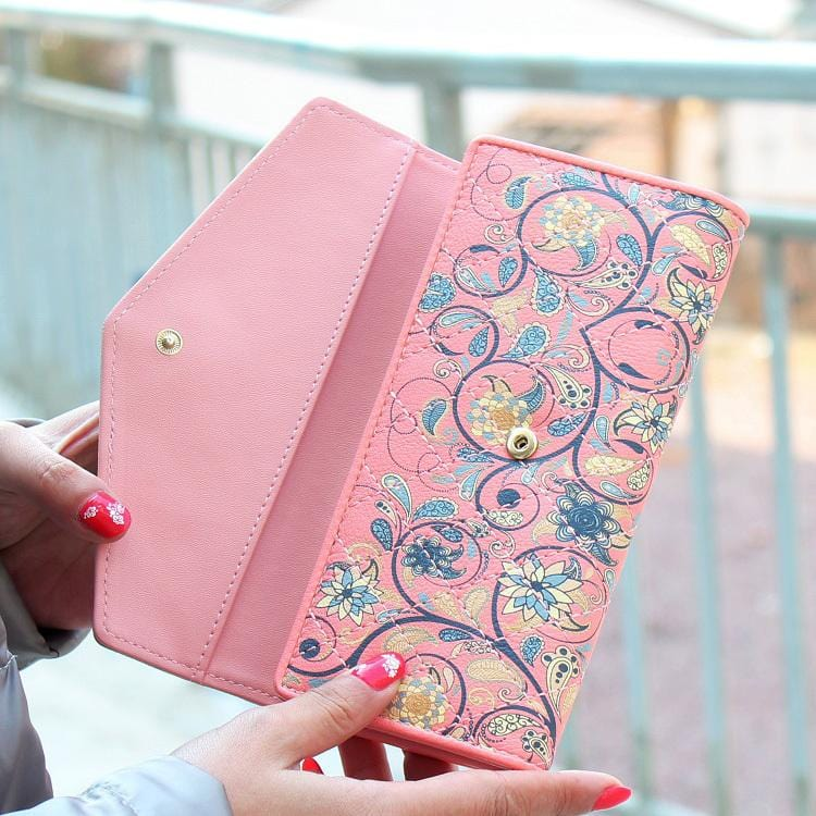 Loves Flower Wallet For Womens