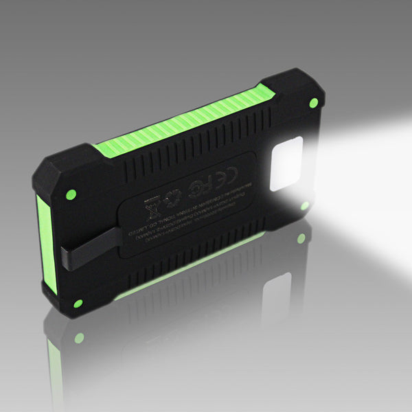 reputable site 3d18e 7e5d4 2017 New Portable Waterproof Dual-USB Solar Battery Charger - Perfect For  Cell Phones