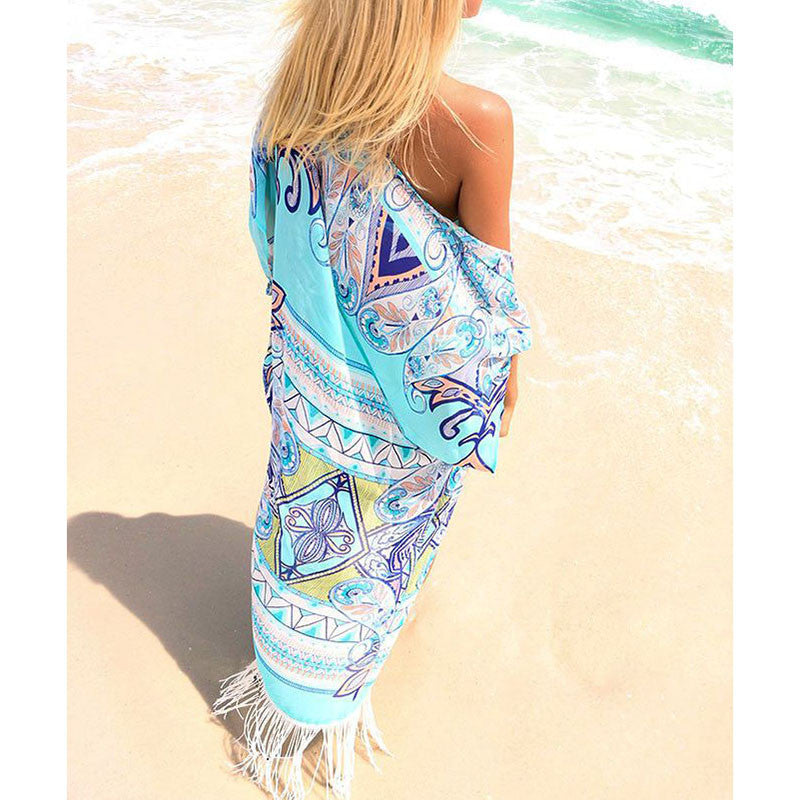 Tassels and Love Beach Cover Up