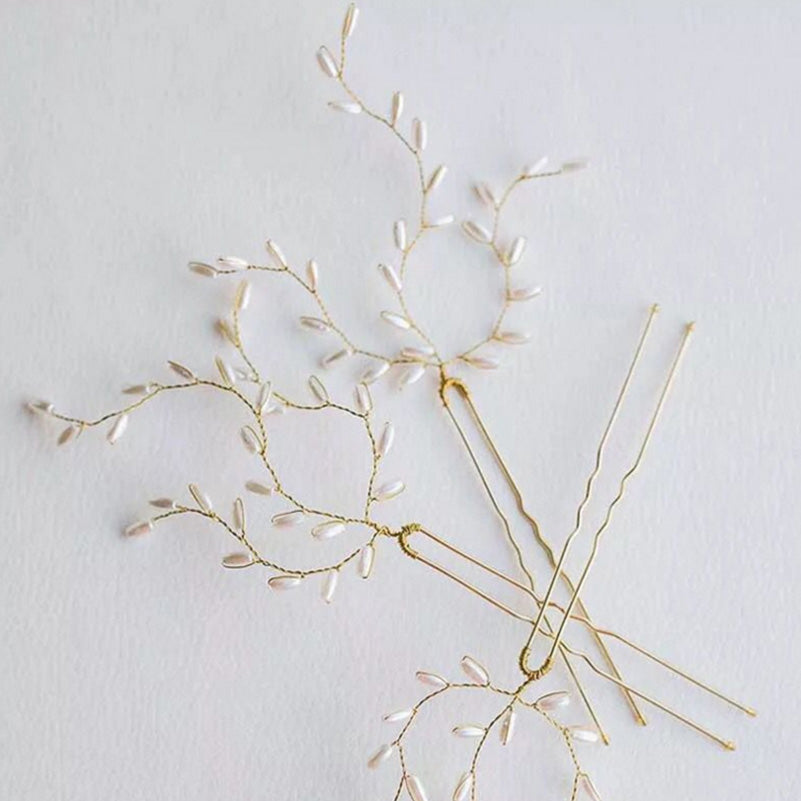 Willow Branch Hair Pins Set of 6
