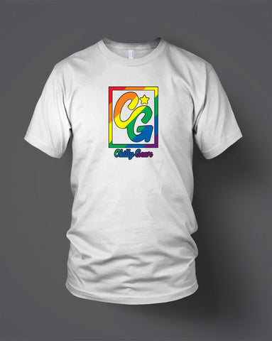 Chilly Gear Pride White T-Shirt