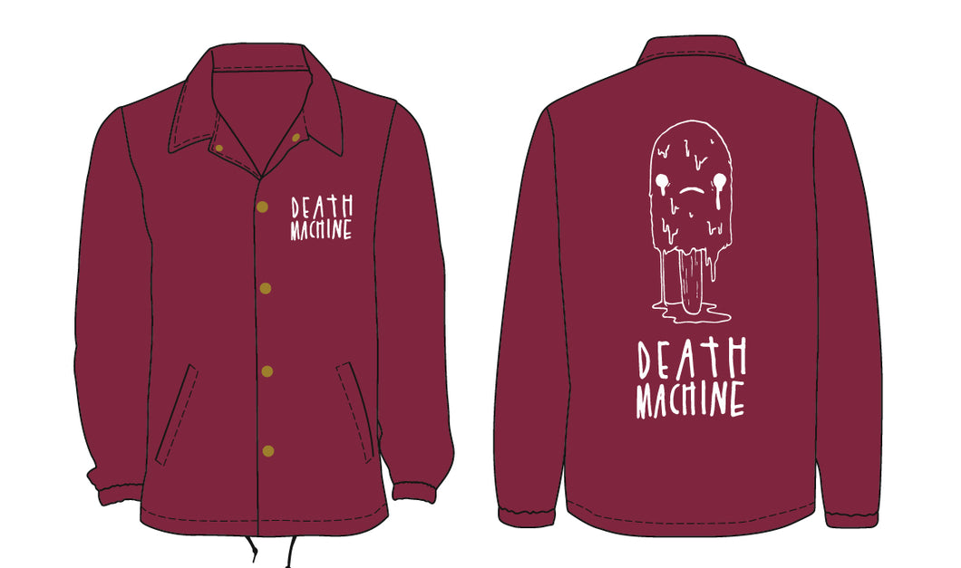 Oops All Death Machine Coaches Jacket