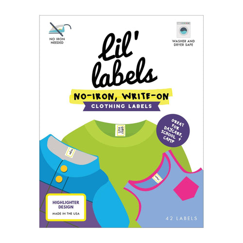 CLOTHING / FABRIC LABELS | Highlighter - Lil' Labels