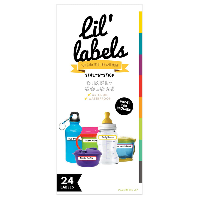 SEAL-N-STICK LABELS | Simply Colors; self-laminating
