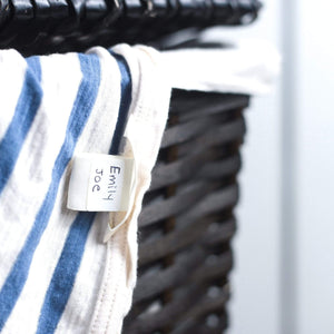 CLOTHING / FABRIC LABELS | Bright White - Lil' Labels
