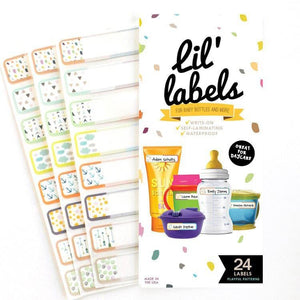 BOTTLE LABELS | Playful Patterns - Lil' Labels