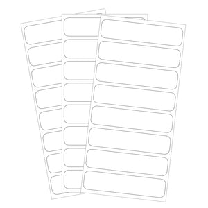 HOME ORGANIZATION / PANTRY LABELS | All-Purpose White - Lil' Labels