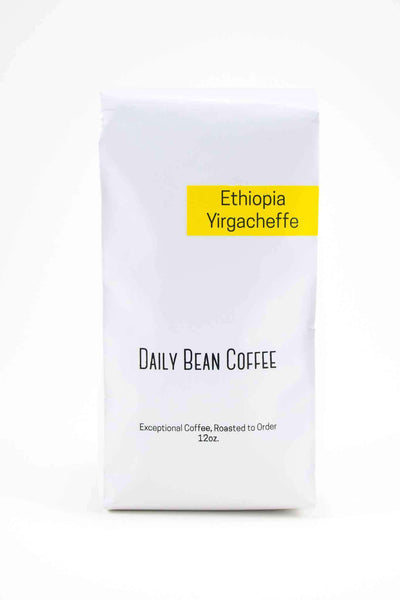 Ethiopia Yirgacheffe - Daily Bean Coffee