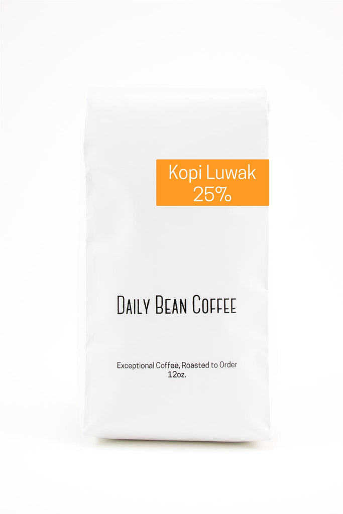Kopi Luwak 25% Blend - Daily Bean Coffee