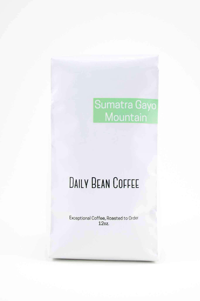 Sumatra Gayo Mountain - Daily Bean Coffee