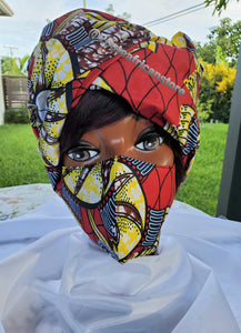 Headwrap and Mask