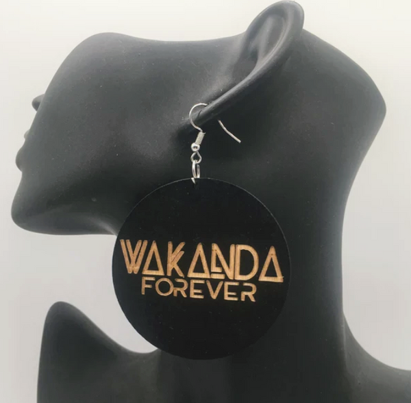 Wakanda Forever Earrings