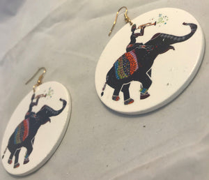 Elephant Celebration Earrings