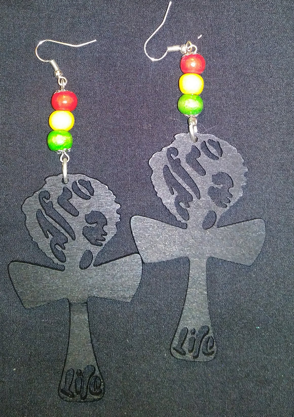 Afro Life Earring