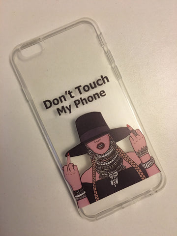 """Dont touch my phone"" Case"