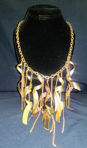 Gold/Copper Tone Necklace