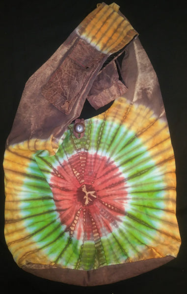 Tie-Dye Shoulder Bag