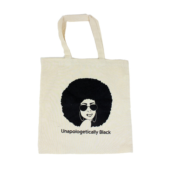 Unapologetically Black Tote Bag