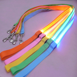 Nylon LED Dog/Cat Leash Night Safety Flashing Glow
