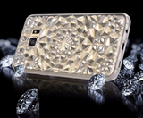 Crystal Diamond Pattern Silicon Soft Back Cover For Samsung Galaxy S7 S7 Edge FREE + SHIPPING