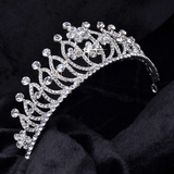 Crystal Tiaras and Crowns for Brides