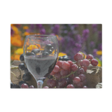 Grapes Of Wine Glass Cutting Board