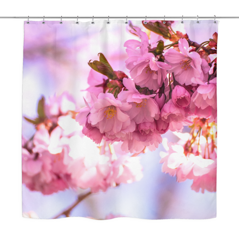 Beauty On The Vine Shower Curtain