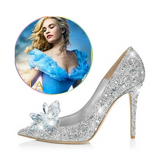 Cinderella Crystal Wedding Shoes