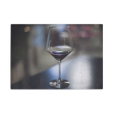 A Glass Of Wine Glass Cutting Board