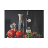 Mediterranean Delight Glass Cutting Board