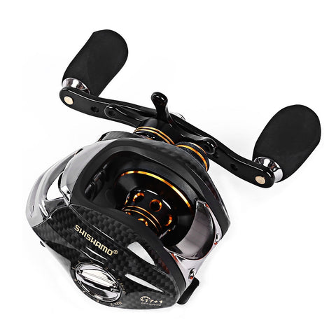 LB200 Fishing Reels GT 7.0:1  Left  or Right Hand Fishing with One Way Clutch Baitcasting Reel