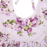 1 Summer Beach Style Floral Print Dresses Ages  12 Months-6 Years