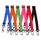 Dog & Cat Adjustable Car Safety Belt Collar Quick Release Lead Leash