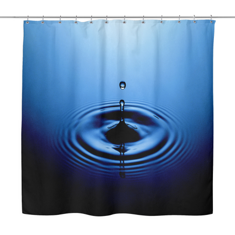Drop Of Water Shower Curtain