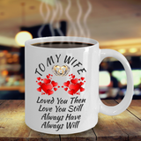 Color Changing Ceramic Love Wife Mug