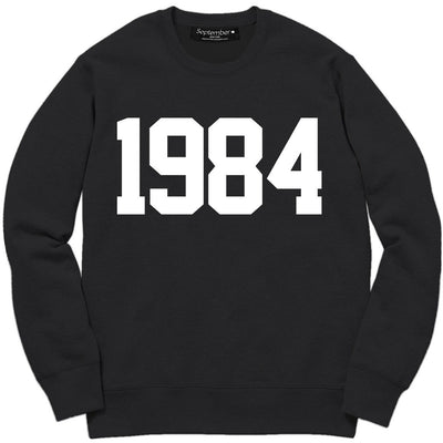 1984 Men's Signature Sweatshirt - September New York (visit septembernewyork.com)