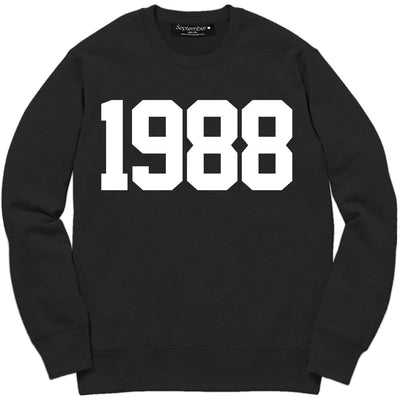 1988 Men's Signature Sweatshirt - September New York (visit septembernewyork.com)